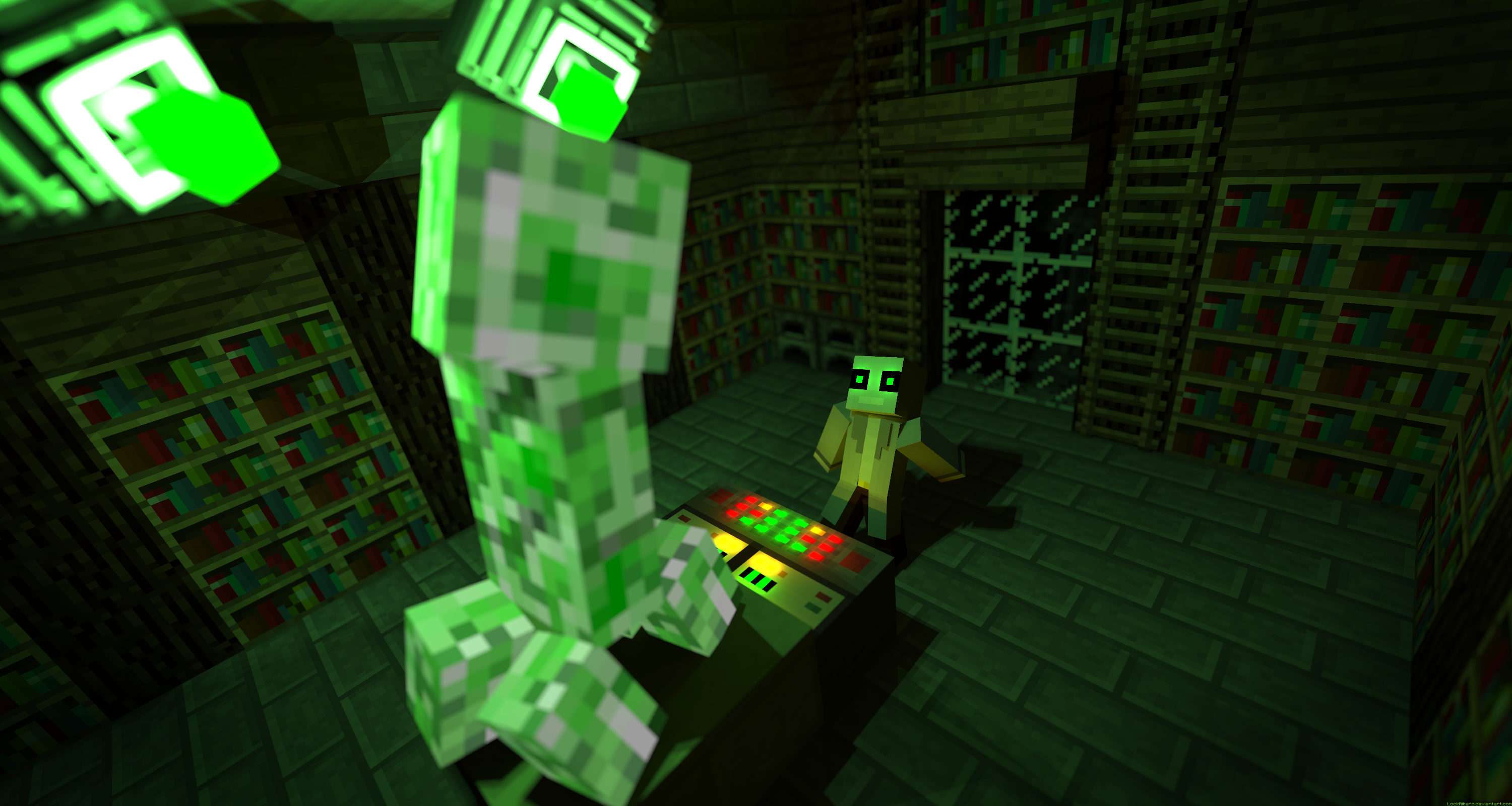 Creeper Experiment by LockRikard