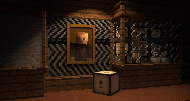 Cave Johnson - Minecraft by LockRikard