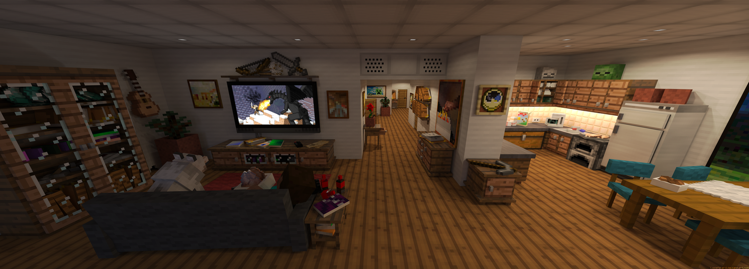 Steve's apartment by LockRikard