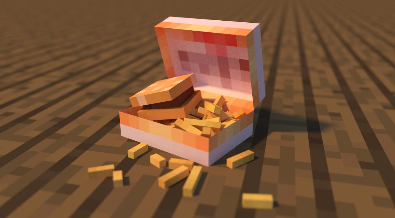 hamburger by LockRikard