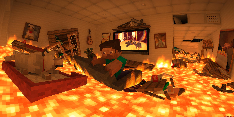 The floor is lava by LockRikard