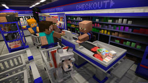 At the checkout