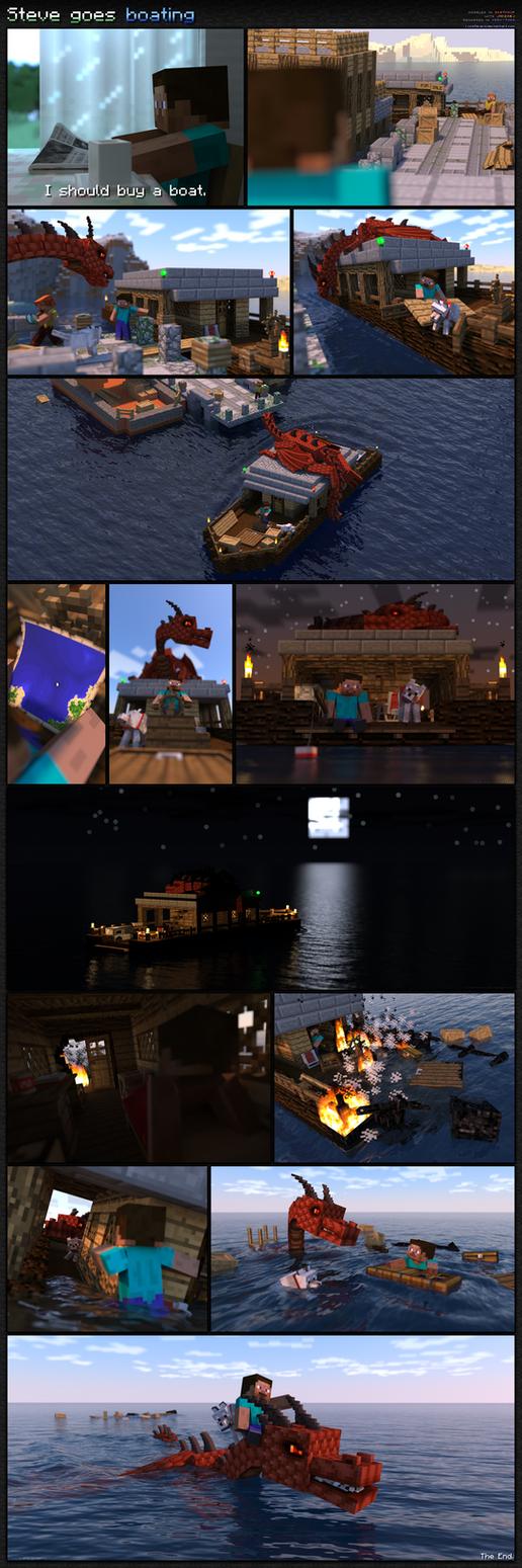 Steve goes boating by LockRikard