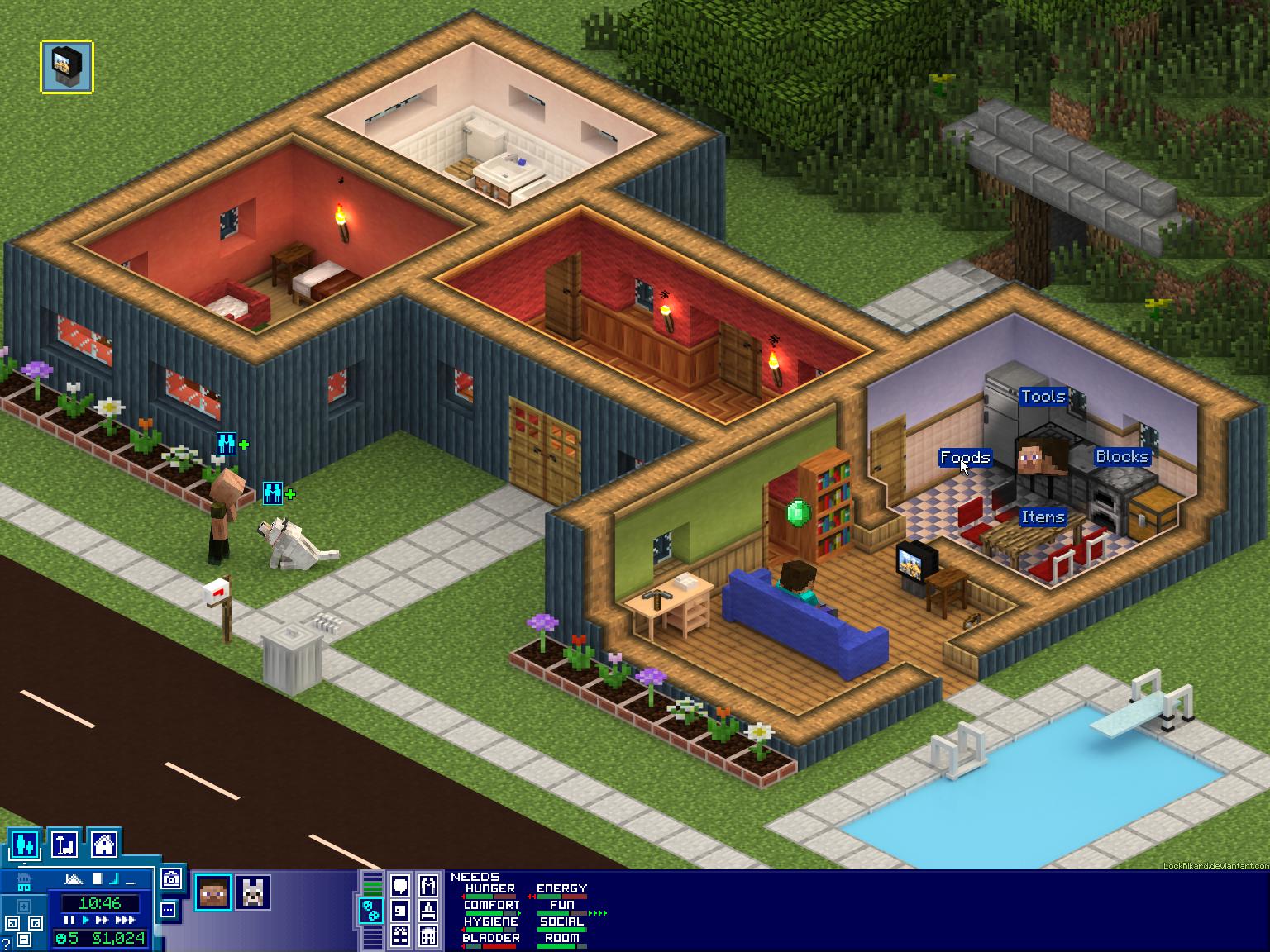 SimCraft by LockRikard