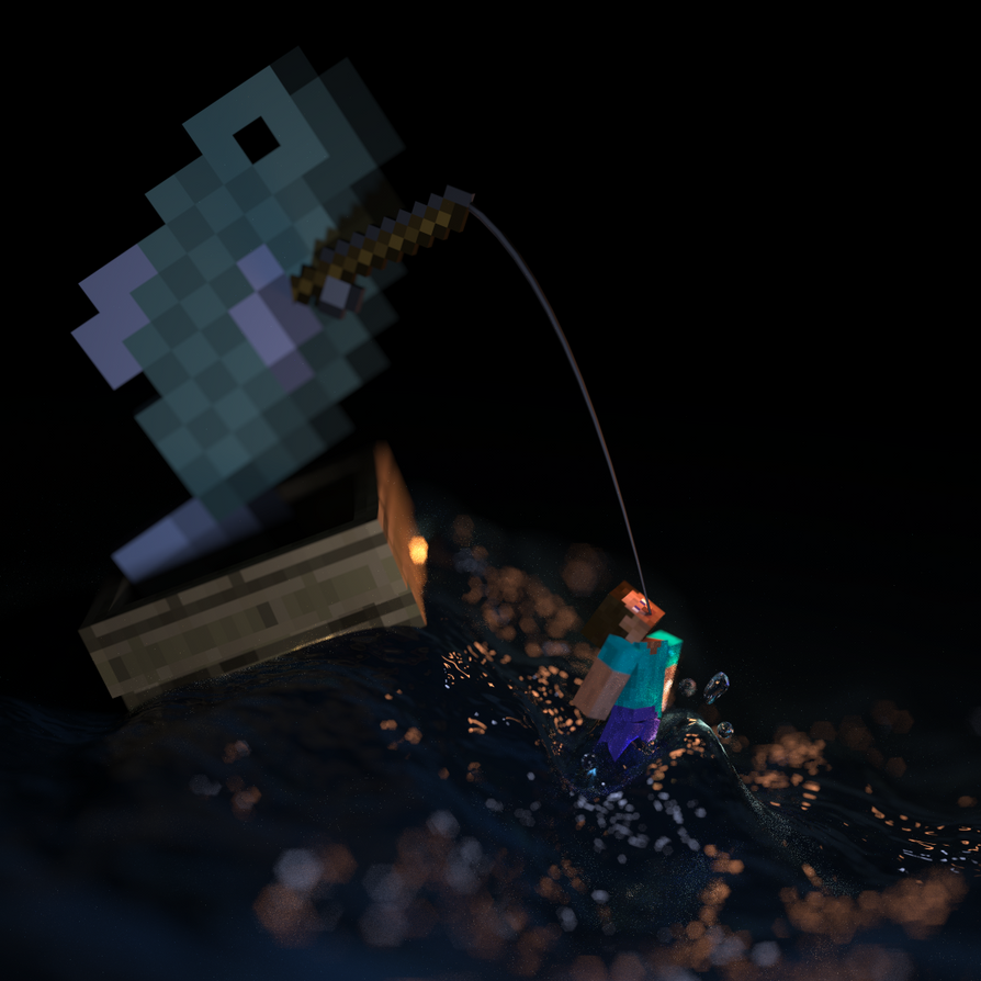 Fish goes steveing by lockrikard on deviantart for What goes good with fish