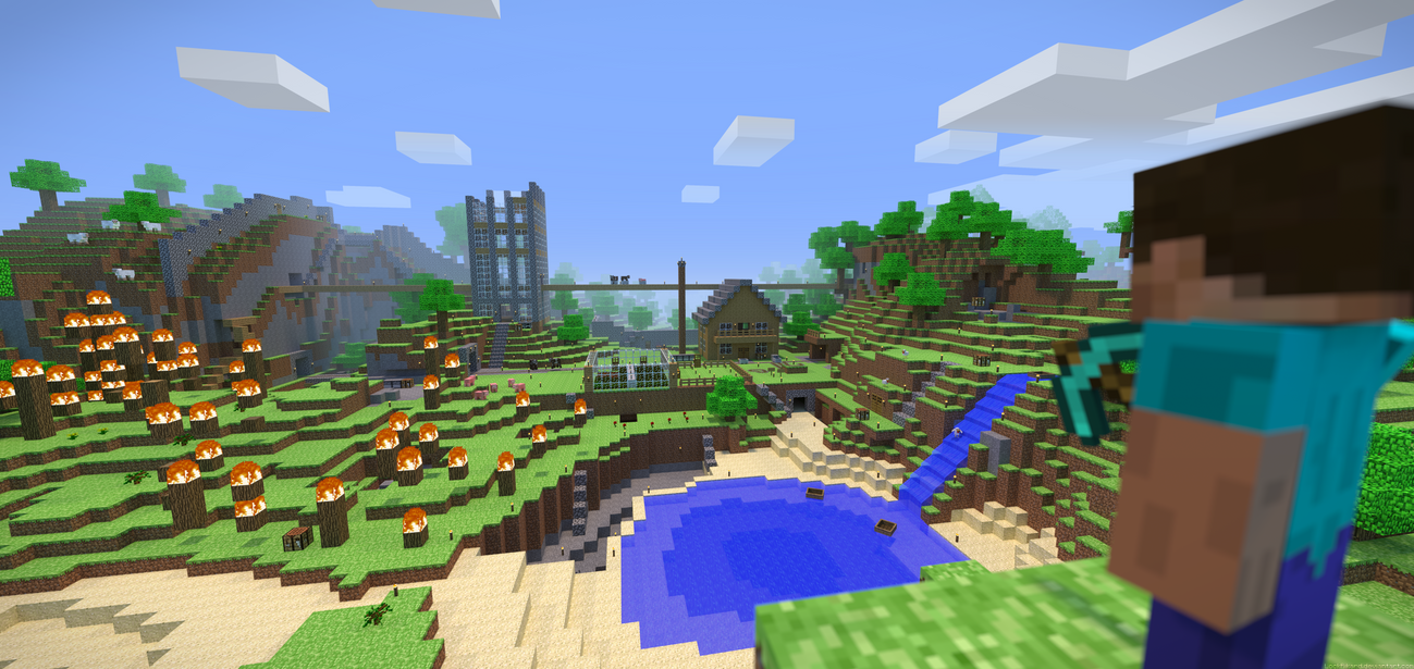 minecraft alpha by lockrikard on deviantart