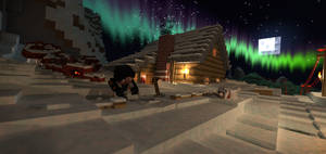 Shoveling snow by LockRikard