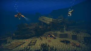 Steve goes diving