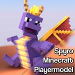 Gmod addon: Spyro Minecraft playermodel