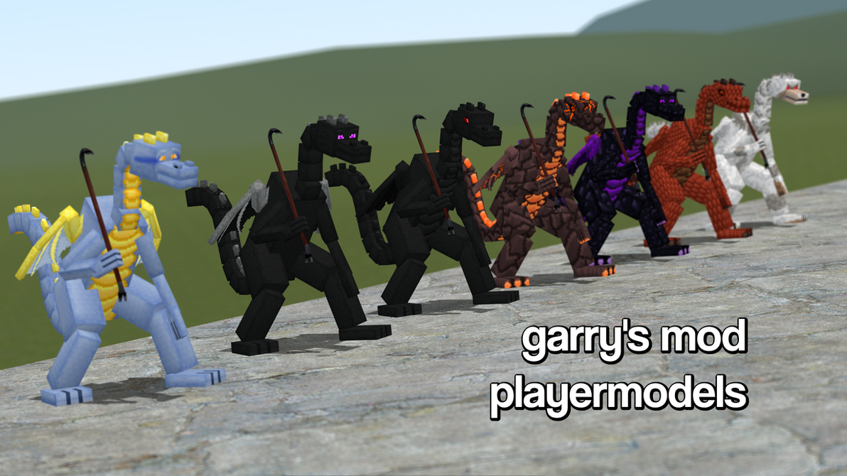 how to change player models in gmod