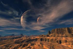 The Desert by LostSoulsArt