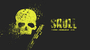 Yellow skull by SkullTeddy