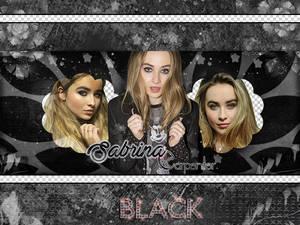 Portada black de Sabrina Carpenter