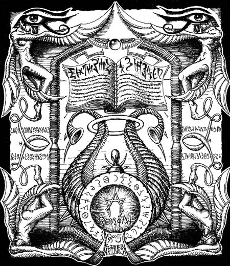 Bookplate by AriBach