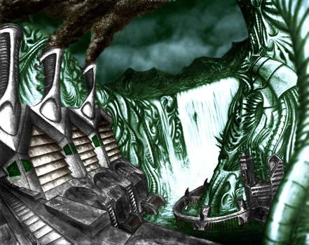 Green Jelly Falls