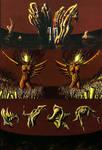Triptych by AriBach