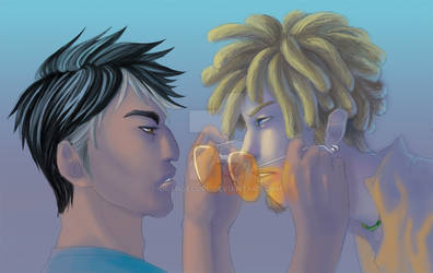 TJ and Amal by OrangeCurl