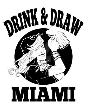 Drink and Draw Miami