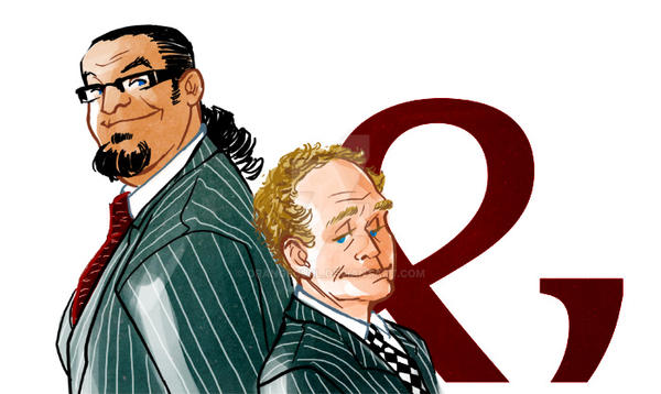 Penn and Teller by OrangeCurl