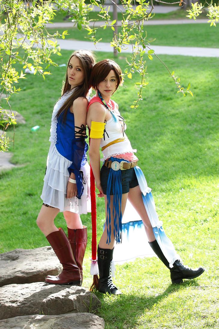 Yuna (Final Fantasy X-2) by HeatherTakarai on DeviantArt
