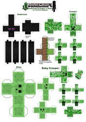 Minecraft Papercraft por Niggayo