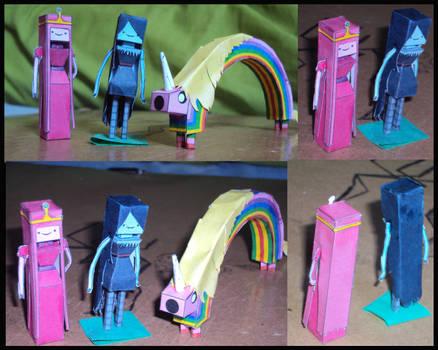 Princess Bubblegum ,Marceline Rainicorn Muestra