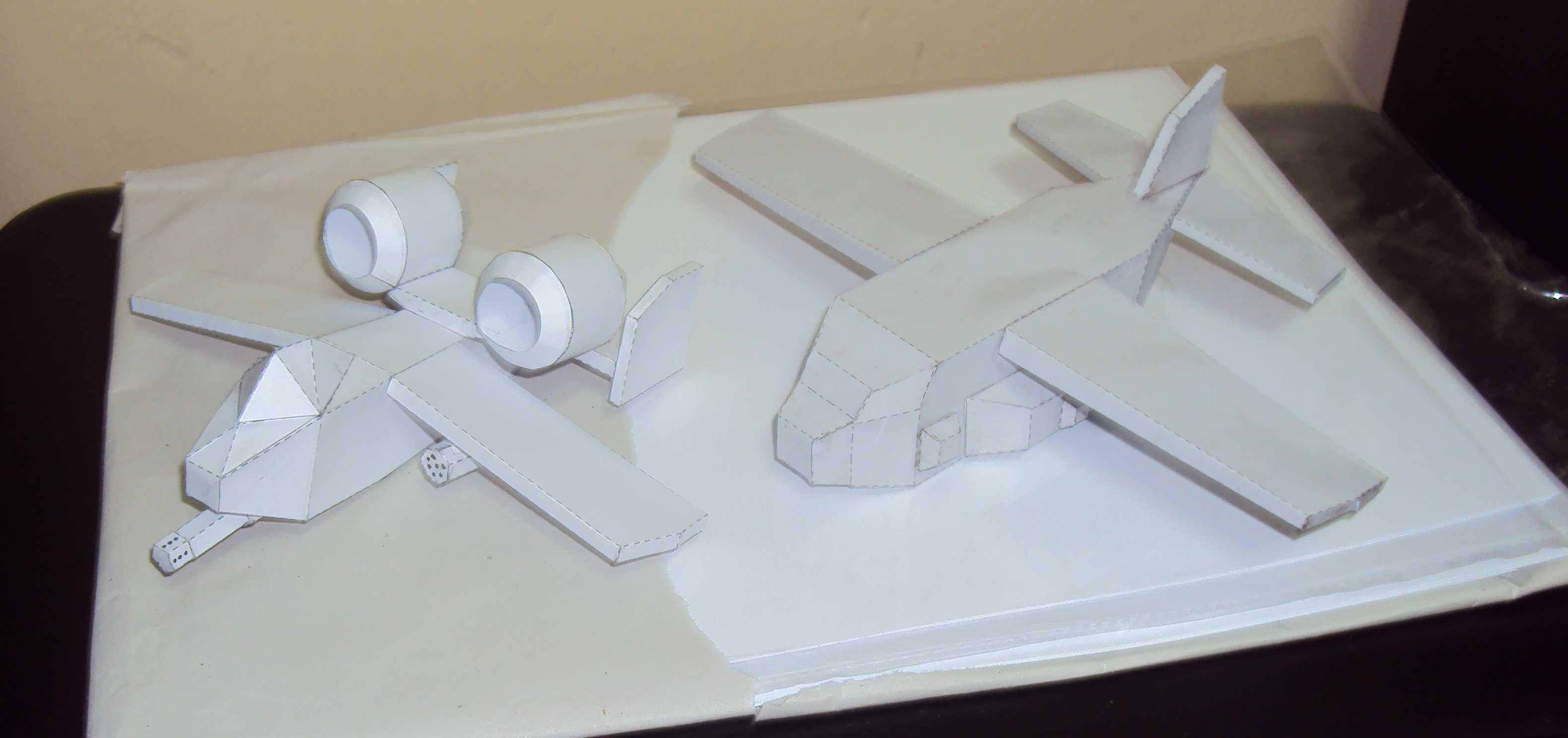 A-10 Thunderbolt y Ac-130 Spectre Gunship