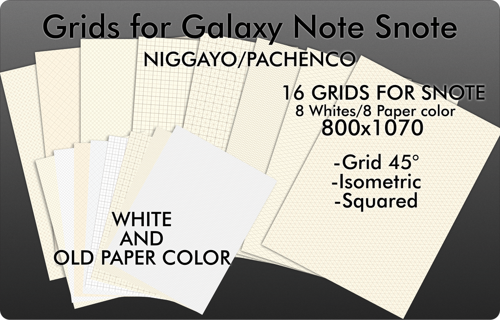 Grids for Galaxy Note (Snote)