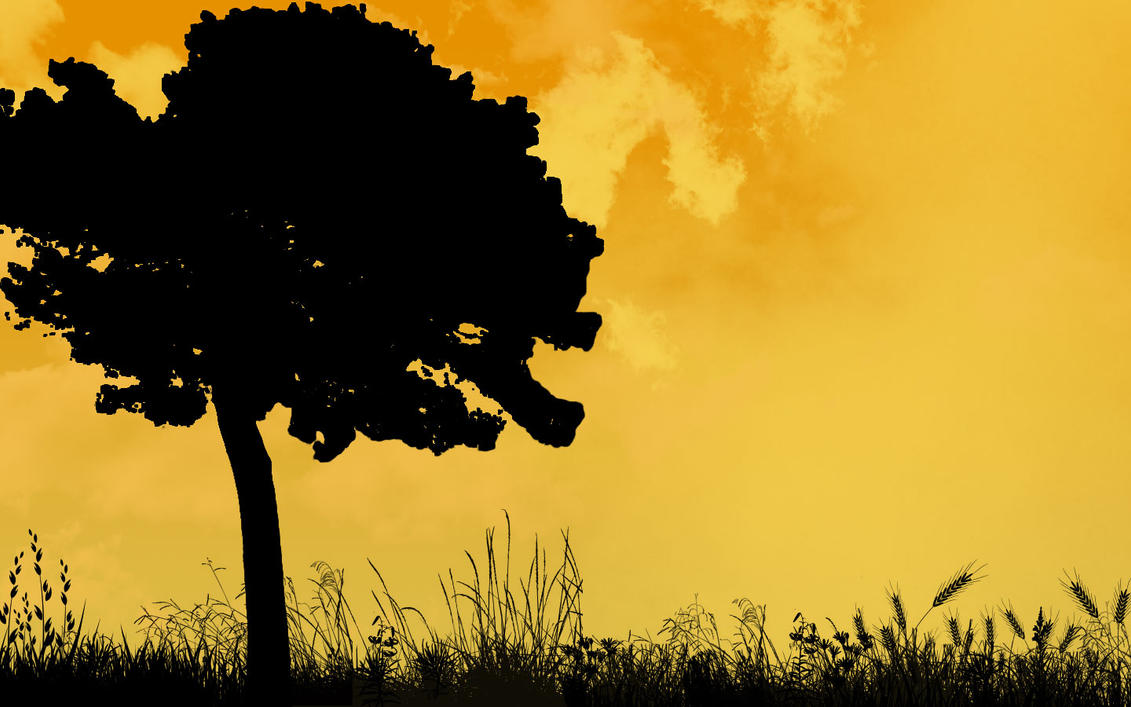Tree silhouette by IRDUNECAT