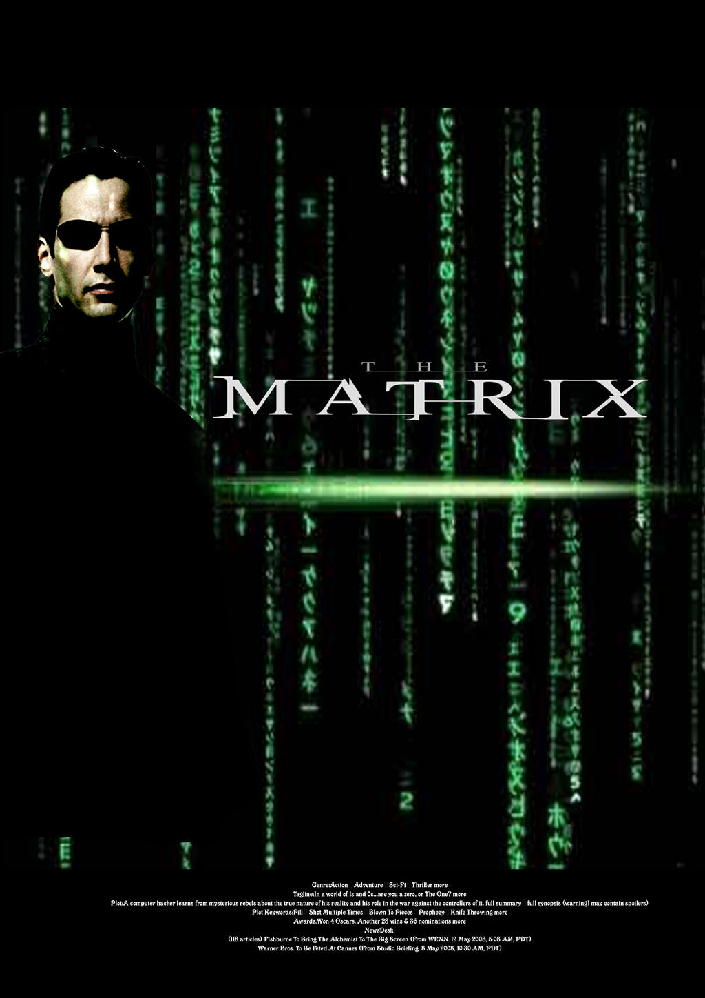matrix movieposter by vincent0800 on DeviantArt