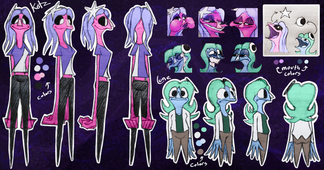 Kotz and Lune Reference Sheet 2021