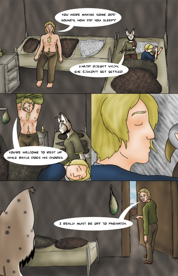 Tamriel Tails- ALWFE- Birth of a Hero #1 Page 20 by KittenXaos