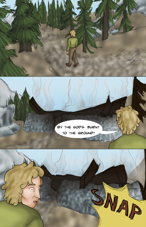 Tamriel Tails- ALWFE- Birth of a Hero #1 Page 22 by KittenXaos