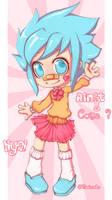. Ain't I cute ? : 3 .
