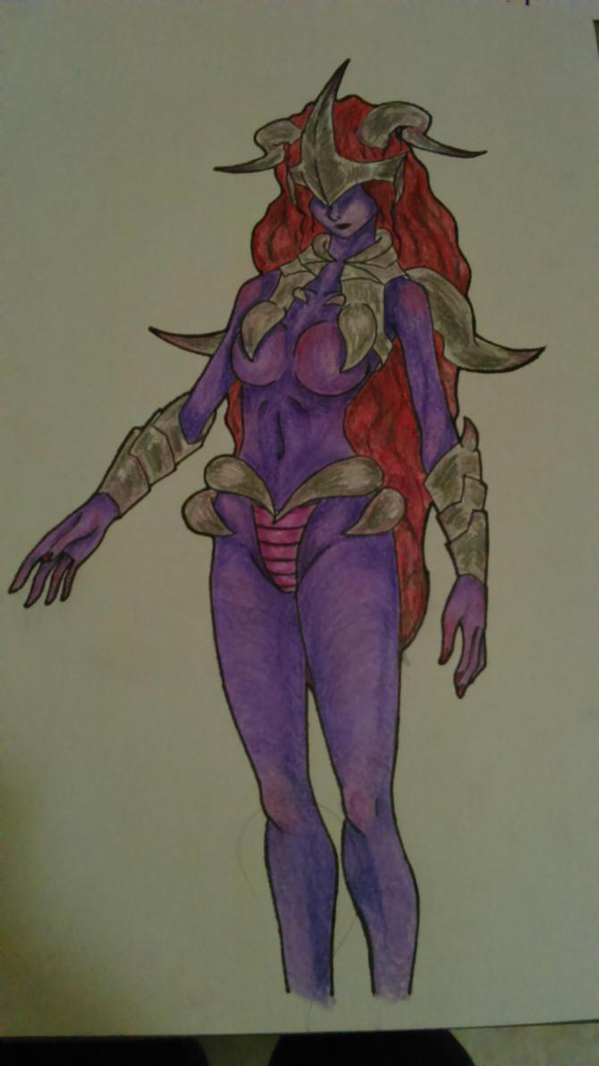 Purple by Fairyhatty