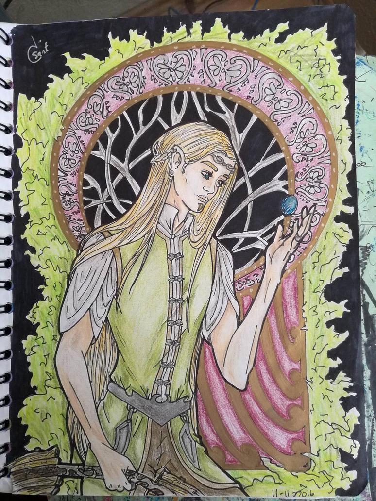Jotelfo pintado by Fairyhatty