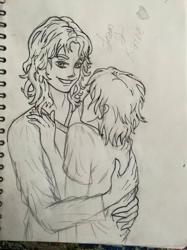 Khate y Liam by Fairyhatty