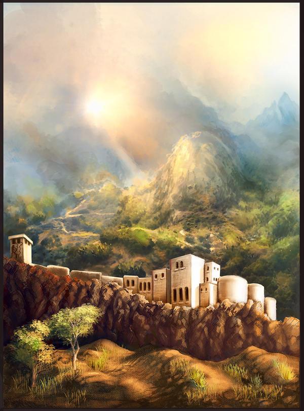 Monastery by E-leah
