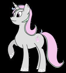 Bubble Tea Pony OC by Bubble-Tea-Pony