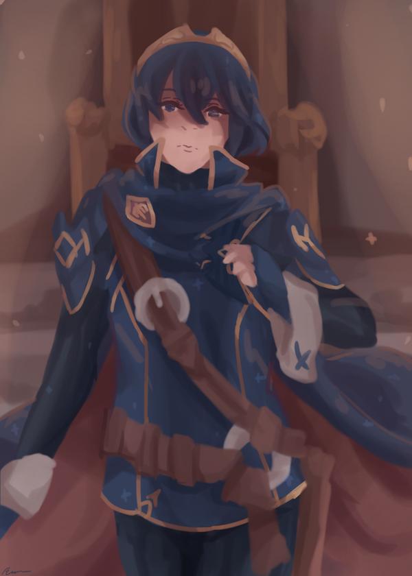 Throne by Rayvenoir