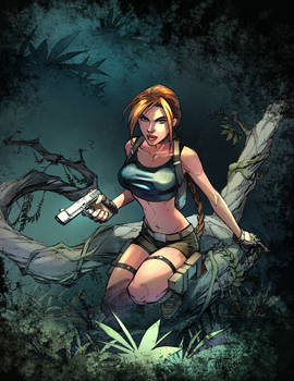 Tomb Raider Exclusive By Randygreen D5dtnaw