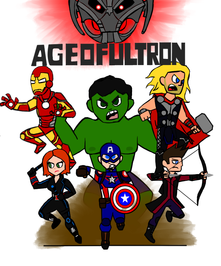Avengers Age Of Ultron By Iloegbunam On Deviantart: DD#5: Avengers Age Of Ultron By T00ngaming On DeviantArt