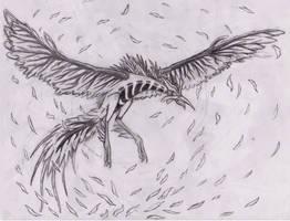 Avengium's  Request (sketch) by ShaunathanBleach