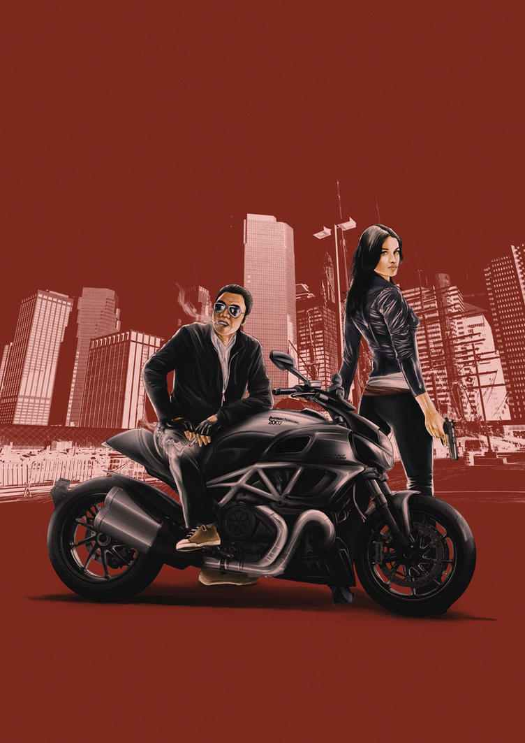ducati diavel new pin up :P by primayoga