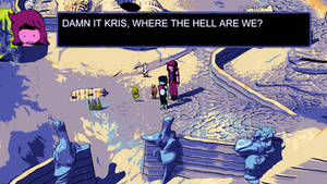 God damn it Kris, why the hell are we in Hylics?