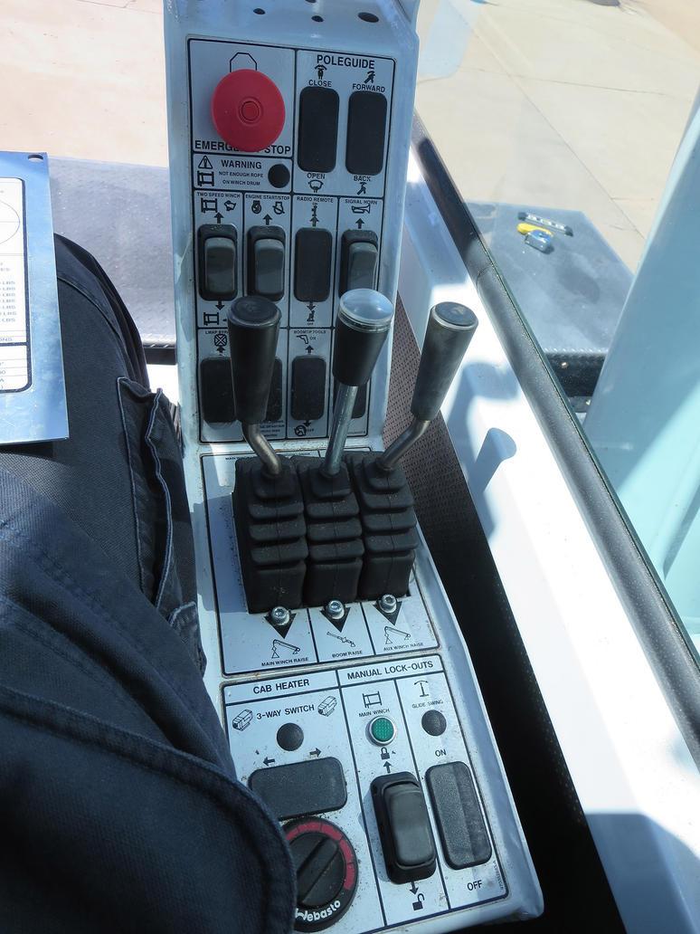 Crane Controls Watch Dogs