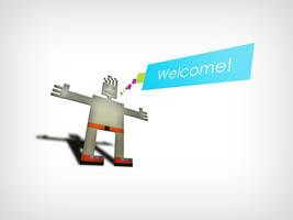 Welcome Man by coleg