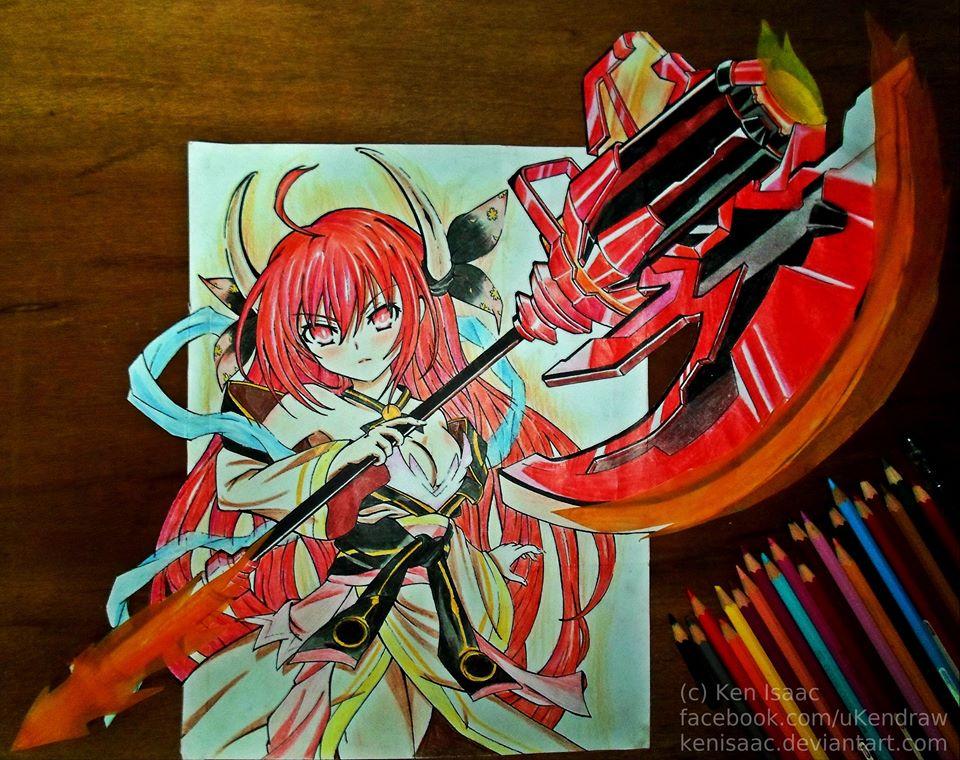 Date A Live Efreet Fan Art By KenIsaac