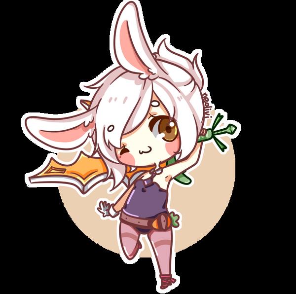 Battle Bunny Riven by neolivii on DeviantArtBunny Riven Fan Art