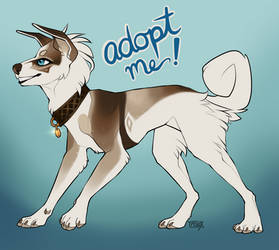 Bork - Adopt Me! OPEN by starry--knight